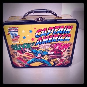 Other - Lunchbox of comic figures tin marvel, DC